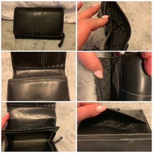 Coach wallet vintage black